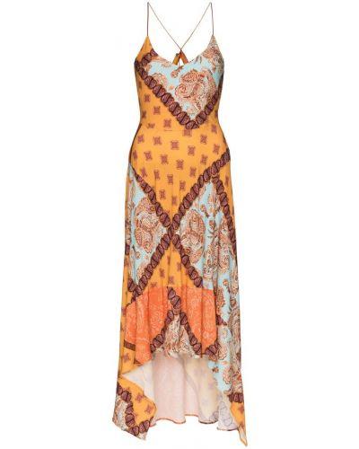 Платье мини миди на бретелях Esteban Cortazar