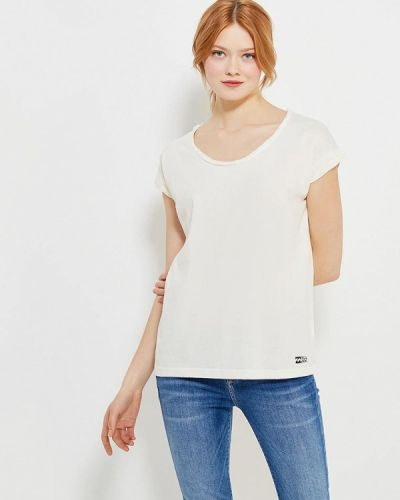 Бежевая футболка Billabong