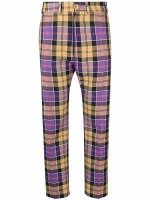 Укороченные брюки - черные Vivienne Westwood