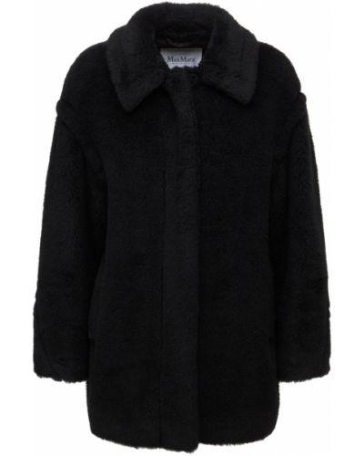 Черная куртка с карманами Max Mara