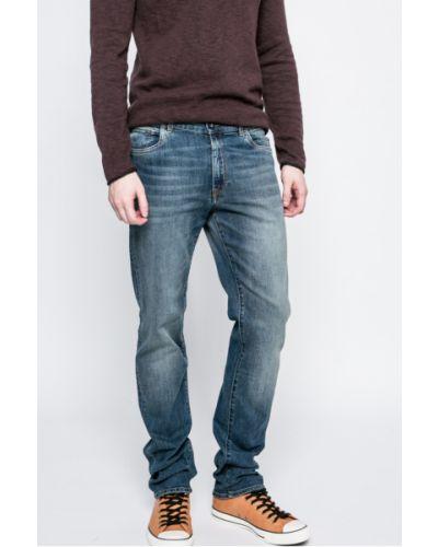 Джинсы-скинни делаве с завышенной талией зауженные Trussardi Jeans