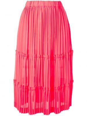 Юбка миди - розовая Comme Des Garçons
