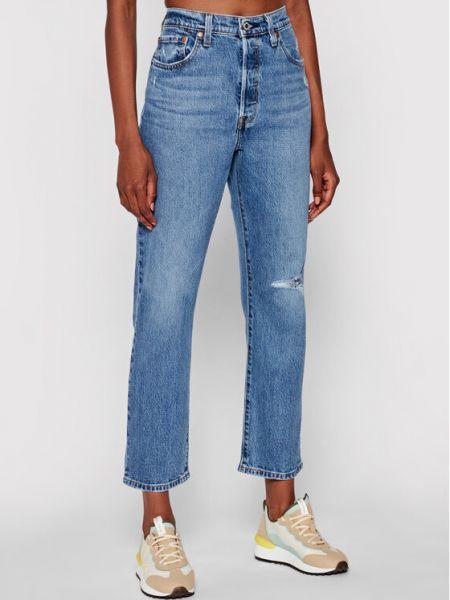 Mom jeans granatowe Levi's