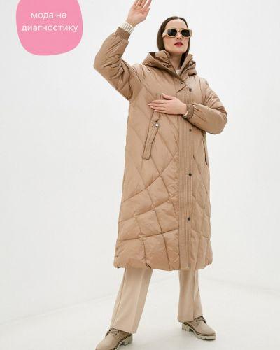 Расклешенная свободная бежевая куртка Finn Flare