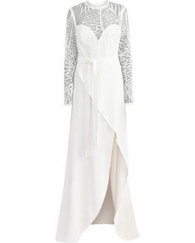 Платье хлопковое из вискозы Elie Saab