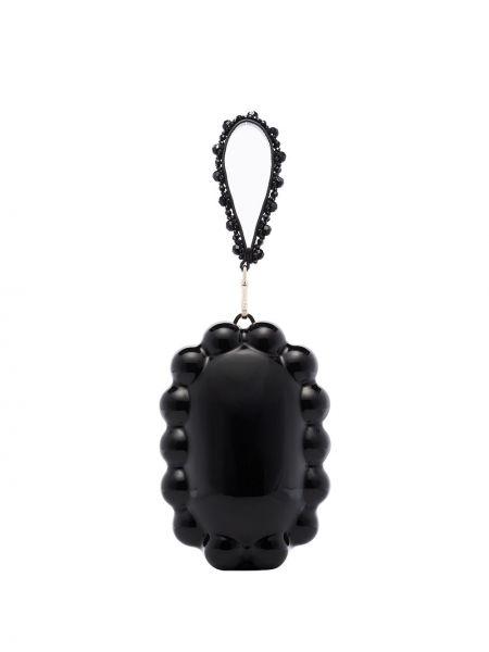 Czarny top z akrylu Simone Rocha