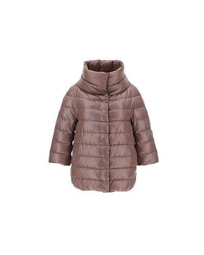 Коричневая куртка Herno
