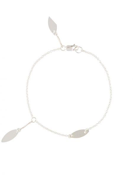 Серебряный браслет с подвесками с декоративной отделкой Petite Grand