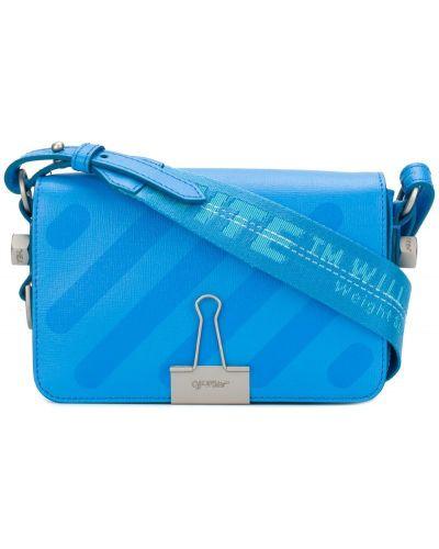 Кожаный сумка маленькая на плечо Off-white