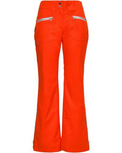 Pomarańczowe spodnie rozkloszowane Erin Snow