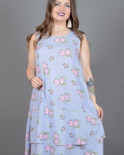 Летнее платье из штапеля платье-сарафан Avigal (avrora)
