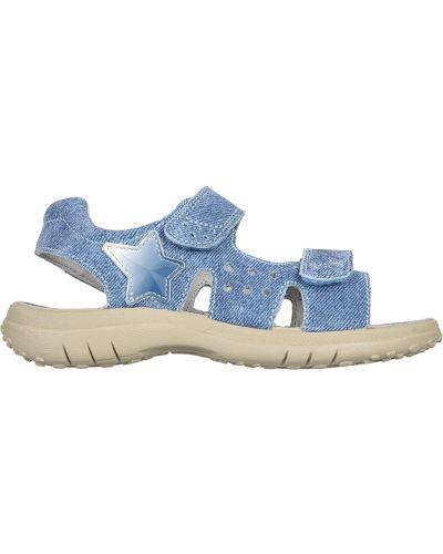 Голубые сандалии Naturino