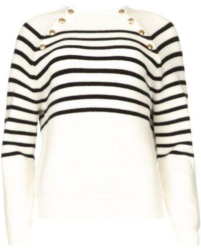 Biały sweter Kocca
