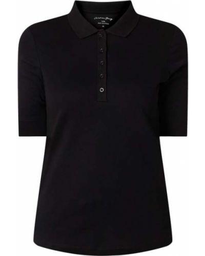T-shirt bawełniana - czarna Christian Berg Women
