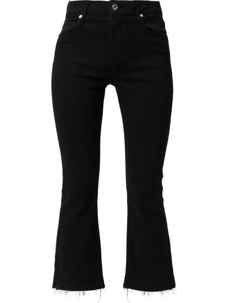 Czarne mom jeans z paskiem Rta