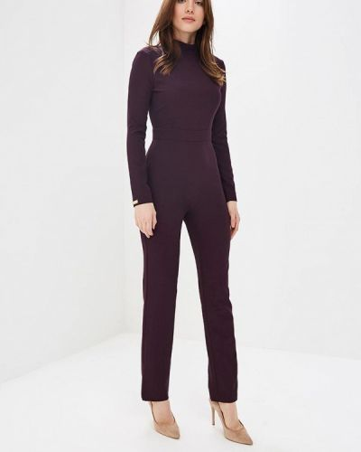 Фиолетовый брючный комбинезон Royal Elegance