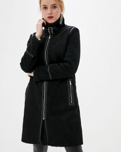Дубленка - черная Softy