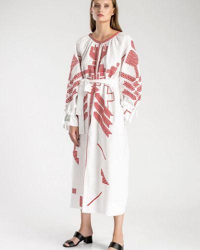 Платье - белое Etnodim