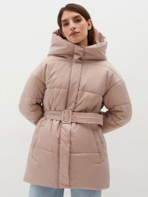 Бежевая зимняя куртка Zarina