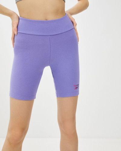 Фиолетовые спортивные шорты Reebok Classic