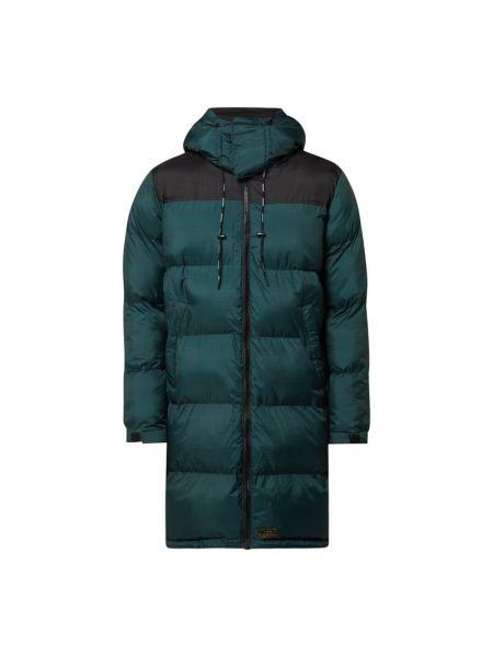Zielona kurtka pikowana Khujo