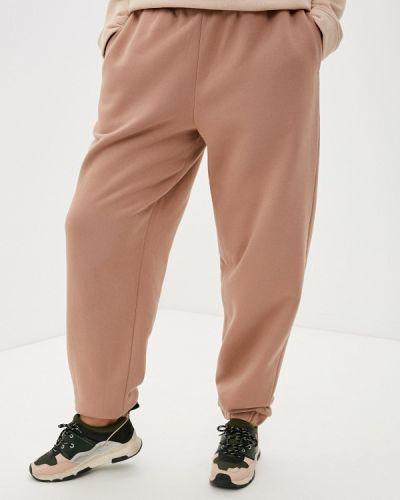 Бежевые спортивные брюки Jp