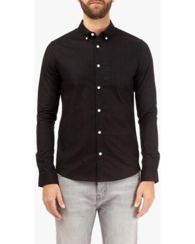 Рубашка - черная Burton Menswear London