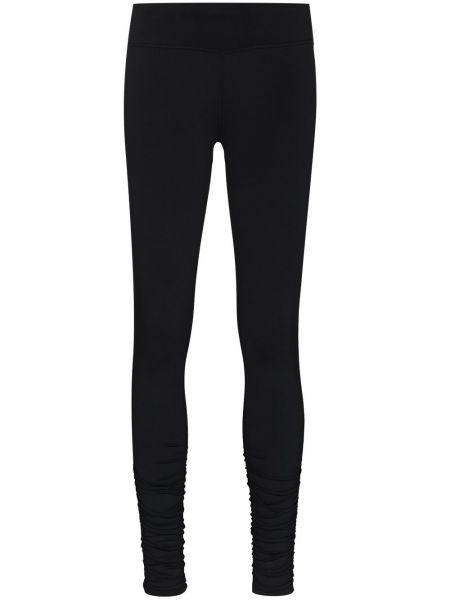Czarne legginsy z wysokim stanem Sweaty Betty