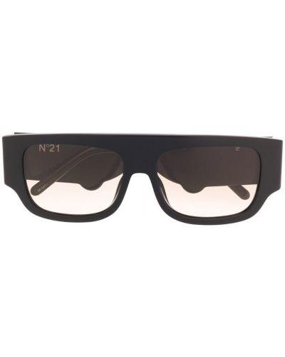 Солнцезащитные очки с логотипом черные N21