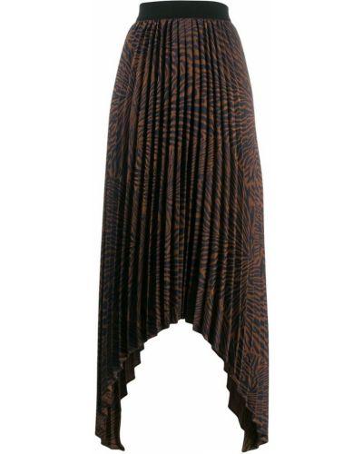 Плиссированная юбка на резинке макси By Malene Birger