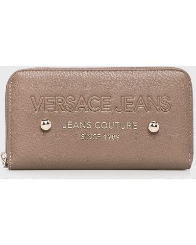 Джинсы mom коричневый Versace Jeans