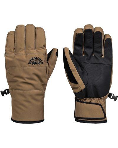 Ciepłe rękawiczki skorzane Quiksilver