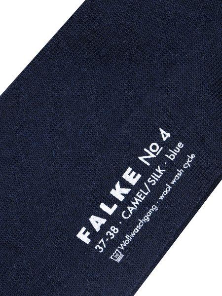 Шелковые колготки - синие Falke