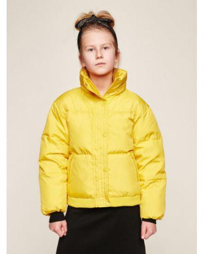 Żółta kurtka oversize Guess