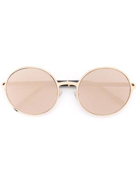 Золотистые муслиновые желтые солнцезащитные очки Gold And Wood