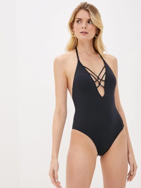Слитный купальник черный Dorina