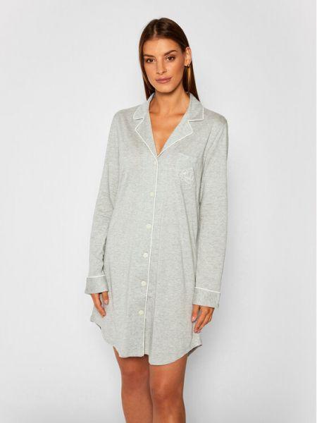 Szara koszula nocna Lauren Ralph Lauren