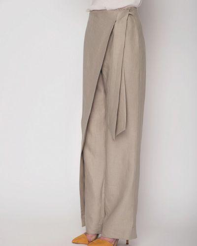 Бежевые брюки Garmoniya