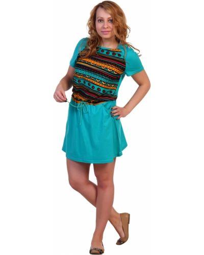 Летнее платье мини повседневное Грандсток