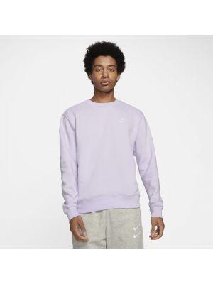 Fioletowa bluza dzianinowa Nike