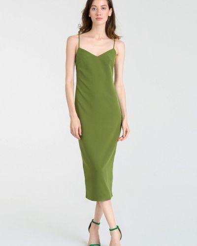 Платье осеннее хаки Magnetic