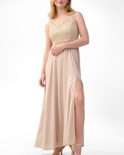 Ażurowa sukienka koktajlowa bez rękawów Orsay
