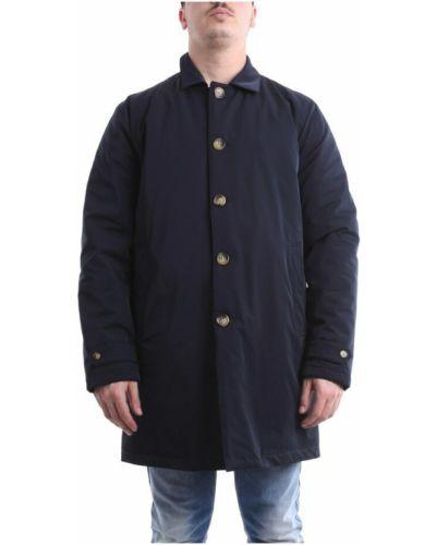 Niebieski długi płaszcz Atpco