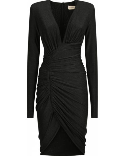 Czarna sukienka Alexandre Vauthier