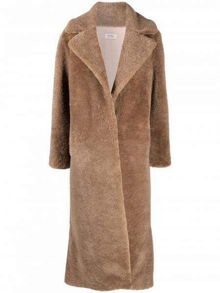 Длинное пальто Yves Salomon Meteo
