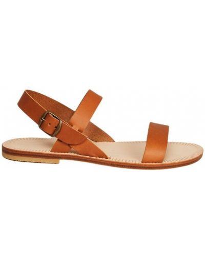 Brązowe sandały Sessun
