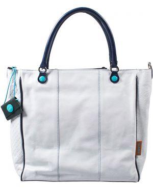 Кожаная сумка - белая Gabs