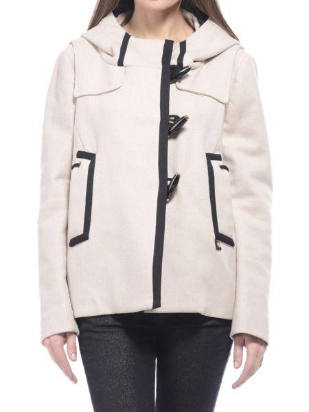 Бежевое пальто из вискозы Marina Yachting