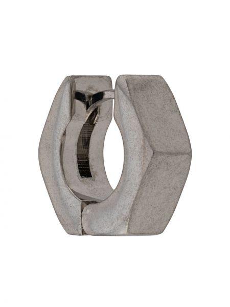 Kolczyki z logo ze srebra Off-white