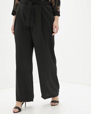 Расклешенные черные брюки Evans